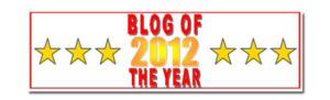 Blog of the Year Award 2012