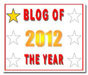 Blog of the Year Award 2012