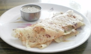 Rava Dosa ready to eat