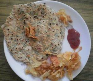 Spring Paratha - ready to serve